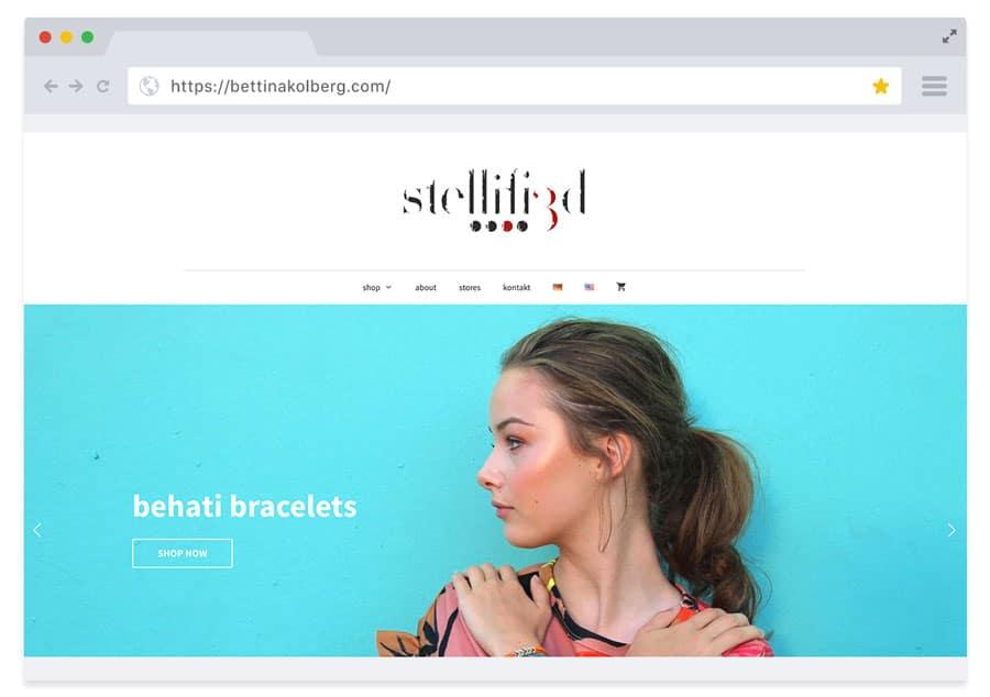 Online-Shop (WooCommerce) Bettina Kolberg