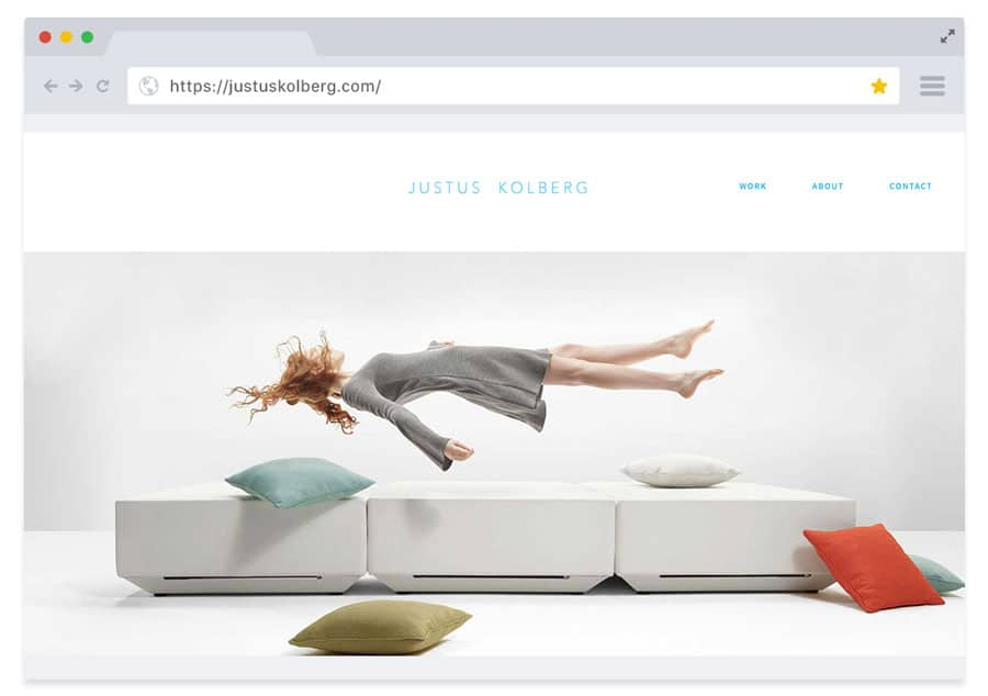 Website - Justus Kolberg Design