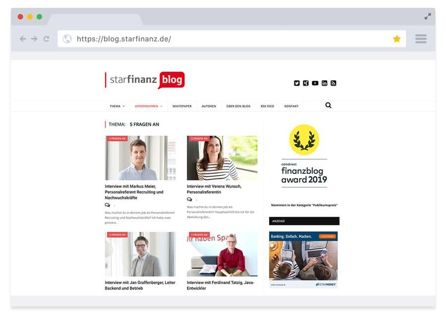 Blog Star Finanz