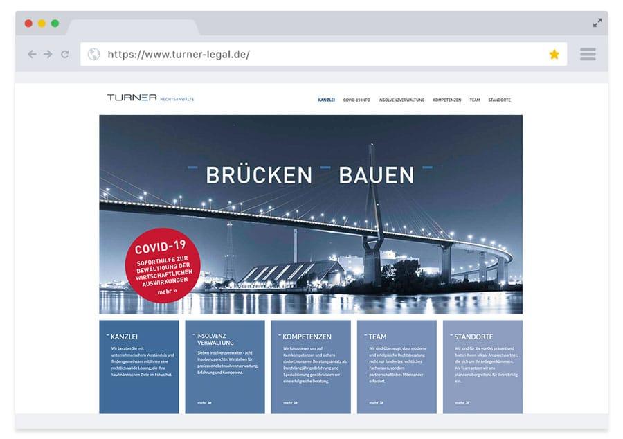 Website Turner Legal