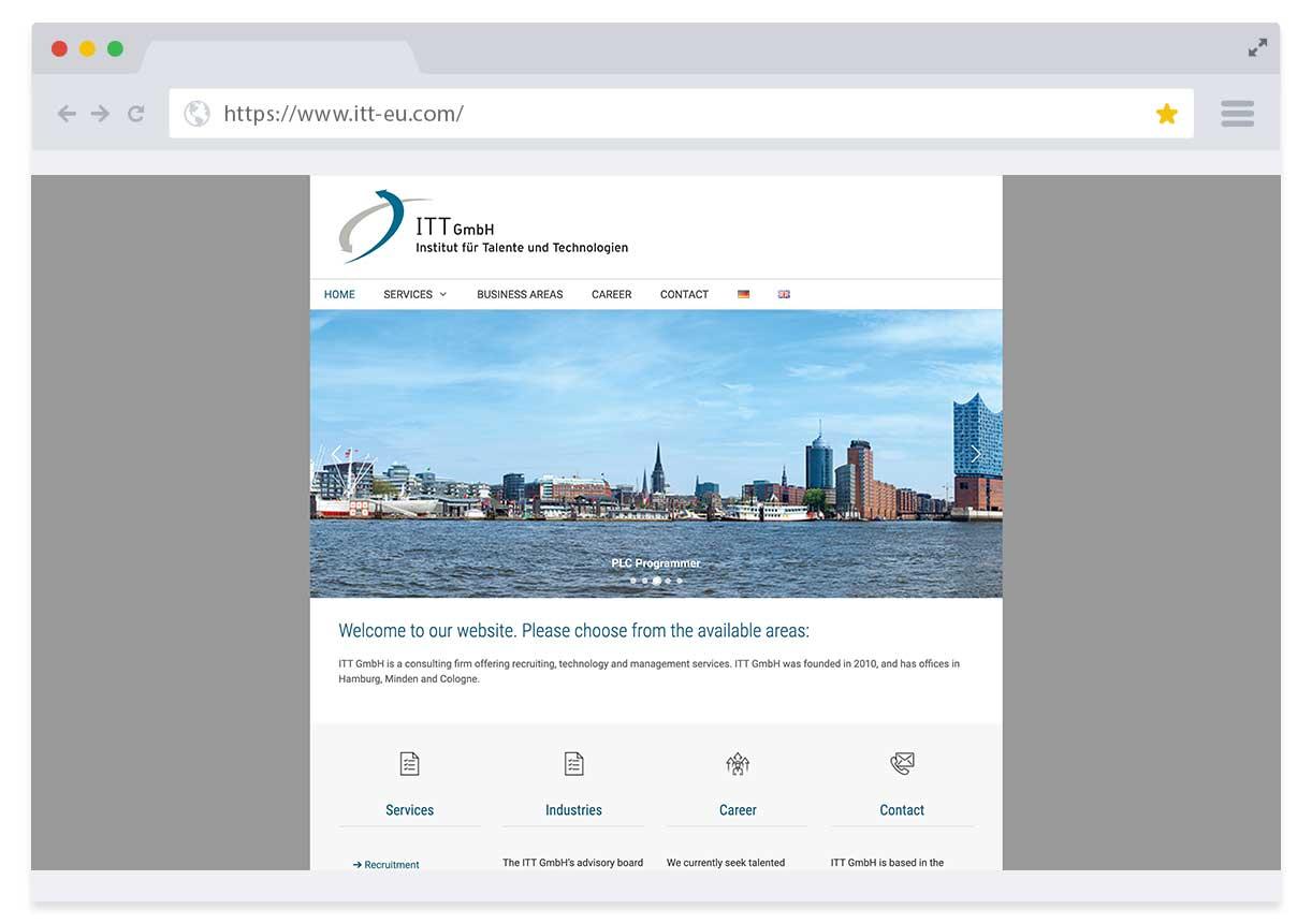 Institut für Talente und Technologien Website