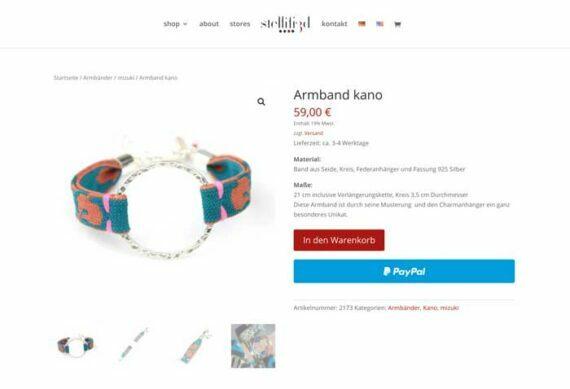 Produktseite Bettina Kolberg Schmuck-Design